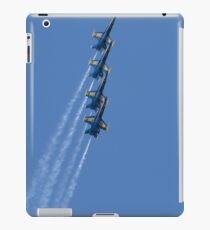 U.S. Navy flight demonstration squadron, the Blue Angels. iPad Case/Skin