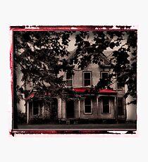 haunted Photographic Print