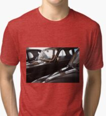 Three black classic cars Tri-blend T-Shirt