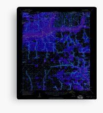 USGS TOPO Map Florida FL Holt 346678 1956 62500 Inverted Canvas Print