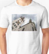 Marvelous Munich - Altes Rathaus Old Town Hall Against Ominous Clouds Unisex T-Shirt