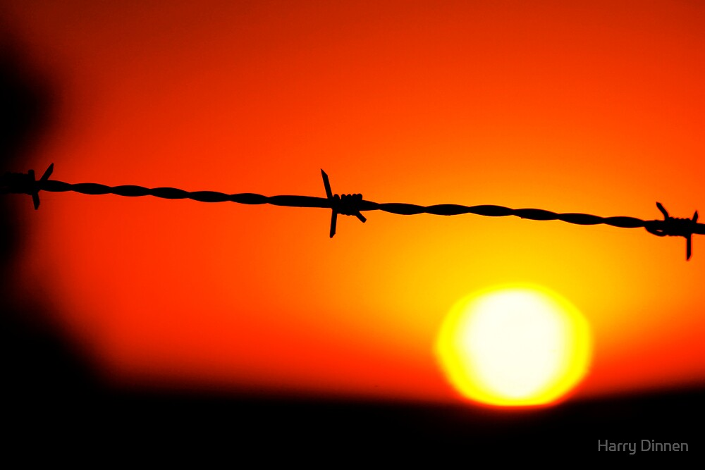 Restricted Sunset by Harry Dinnen