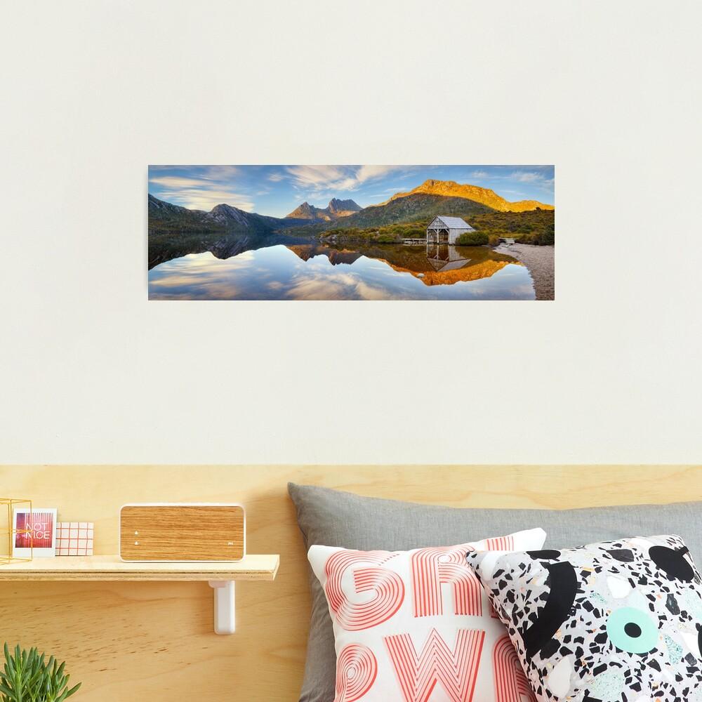 Dove Lake Boat Shed, Cradle Mountain, Australia Photographic Print