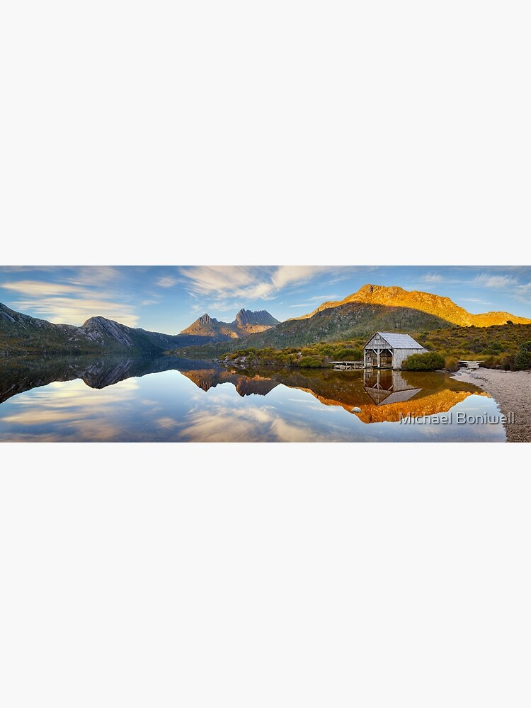 Dove Lake Boat Shed, Cradle Mountain, Australia by Chockstone