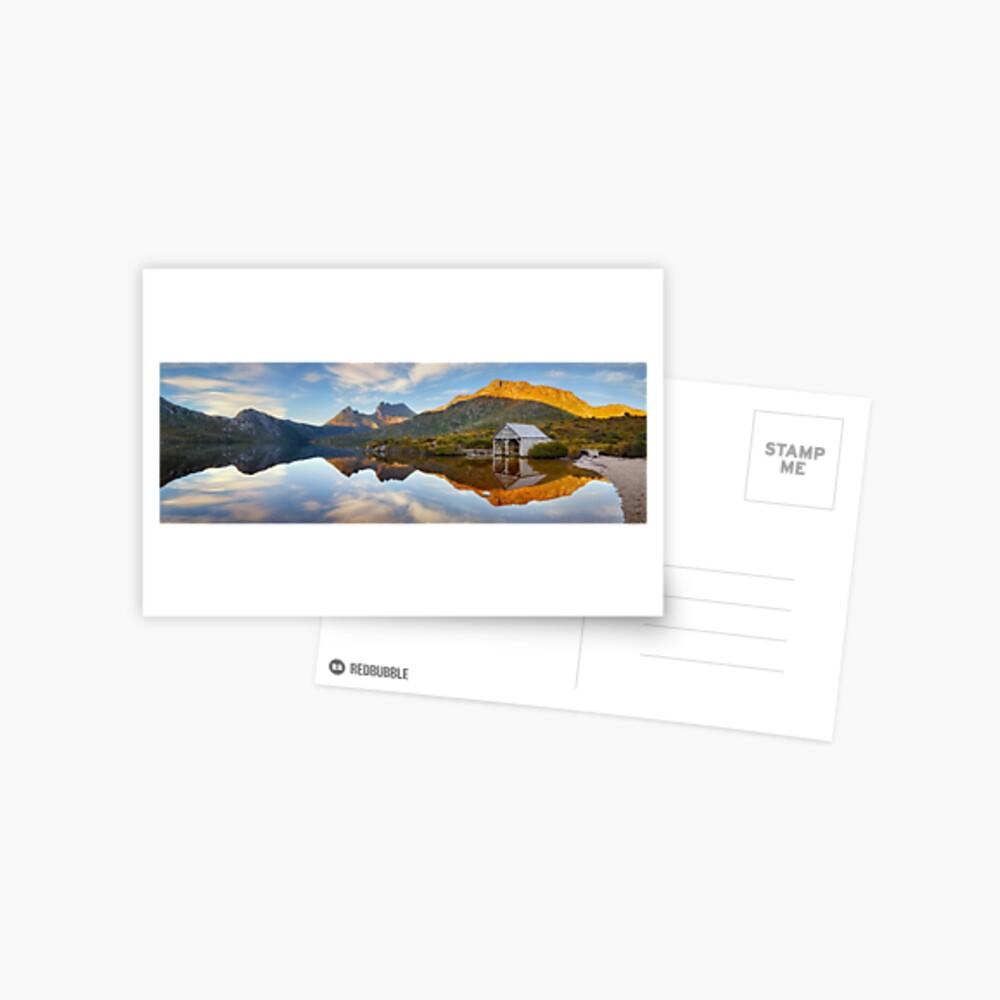 Dove Lake Boat Shed, Cradle Mountain, Australia Postcard