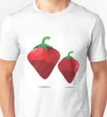 red strawberries Unisex T-Shirt