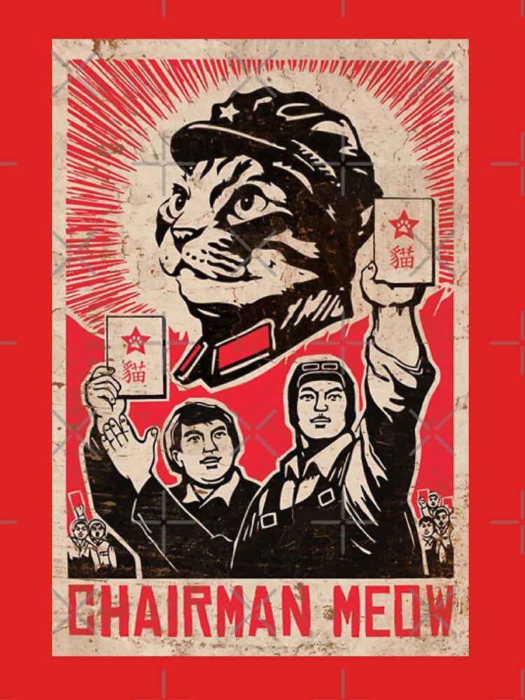 Meow Mao China cat meme by GarciaPayan
