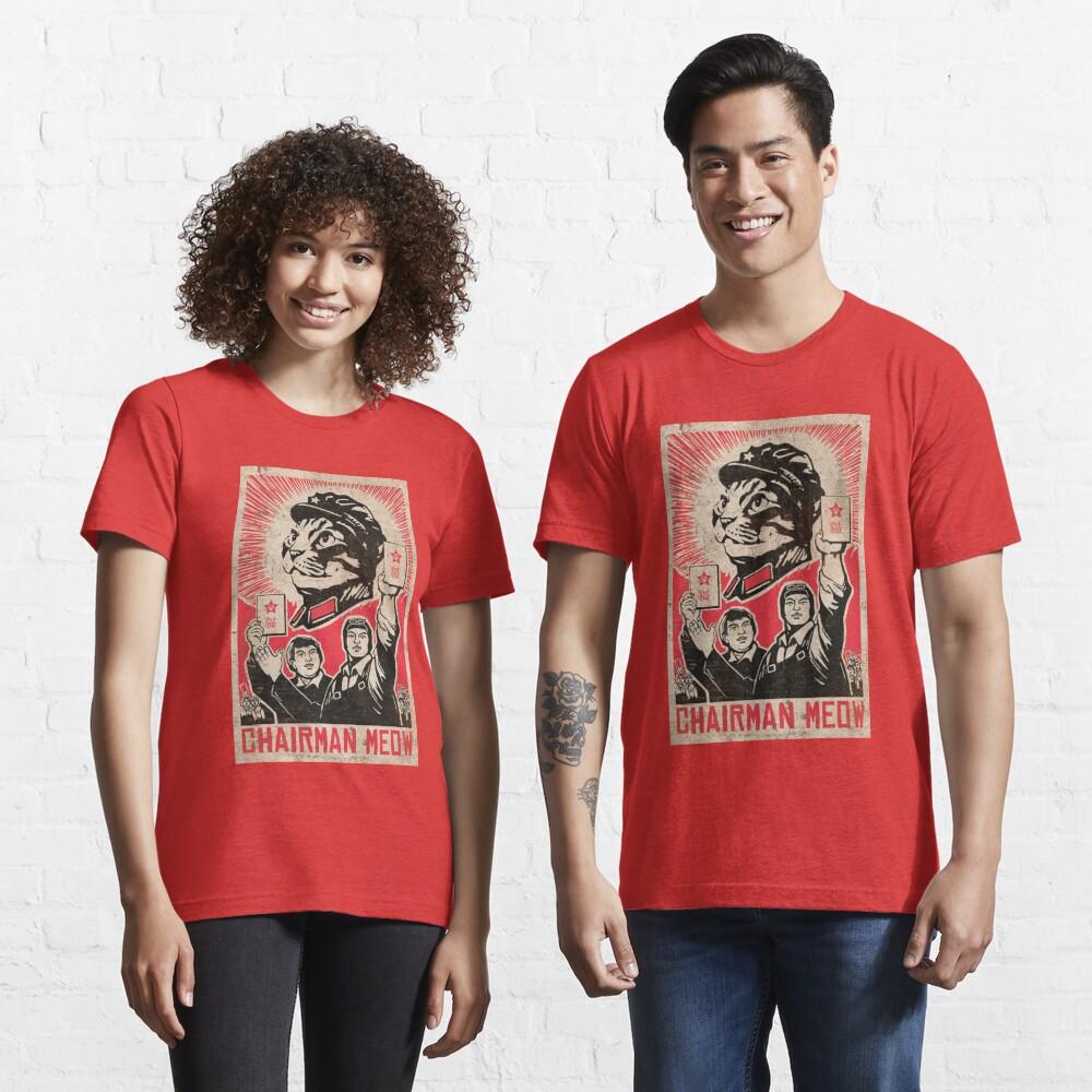 Meow Mao China cat meme Essential T-Shirt