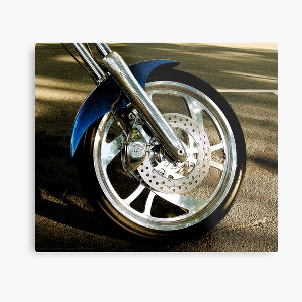 Hot Wheel Metal Print