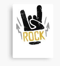 Rock Horns Canvas Print