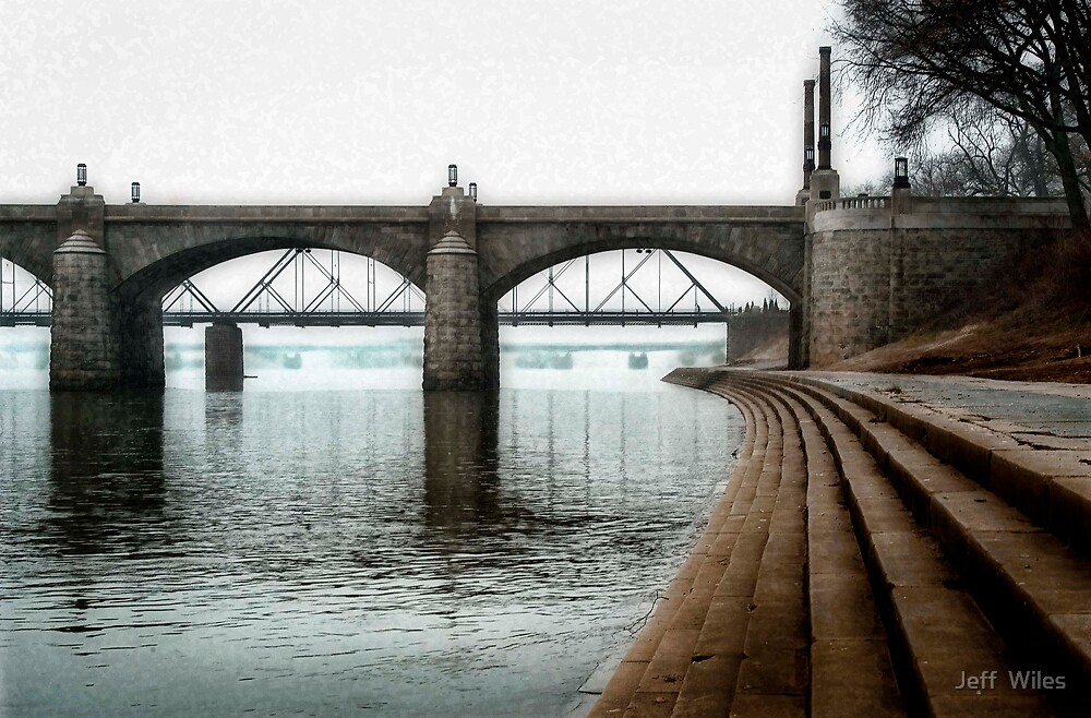 Bridges and steps. by Jeff  Wiles