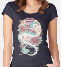 Dragon of the River Women's Fitted Scoop T-Shirt