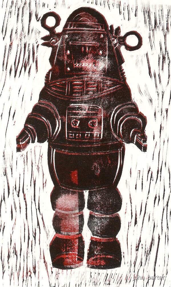 robot by john  barter