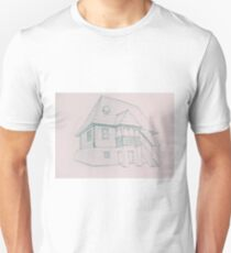 Drawing sketch of traditional house T-Shirt