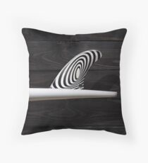 Single Fin Throw Pillow