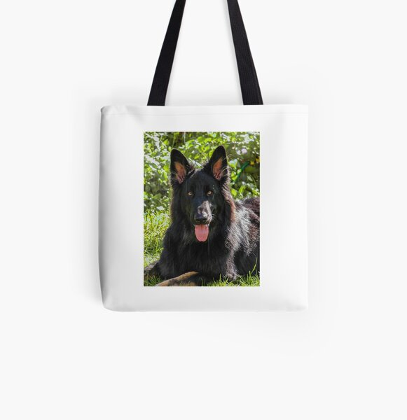 Loved By A German Shepherd Tote Bag New  MADE IN USA