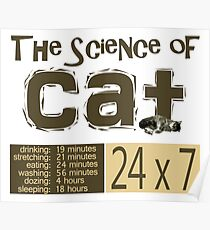 The science of cat Poster