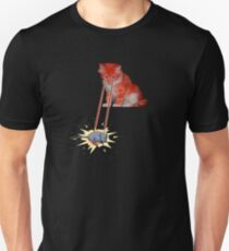 Laser Kitty Unisex T-Shirt