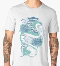 Dragon of the Blue River Men's Premium T-Shirt
