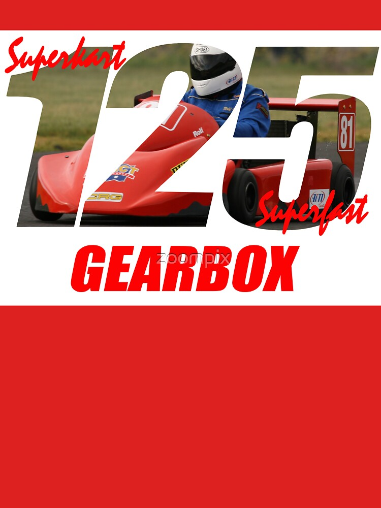 Superkart 125 Gearbox  by zoompix