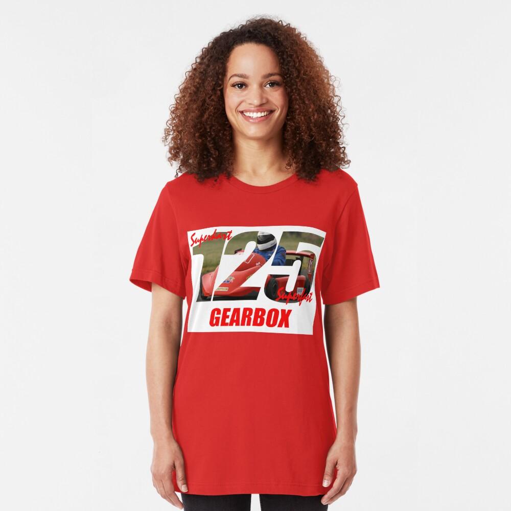 Superkart 125 Gearbox  Slim Fit T-Shirt
