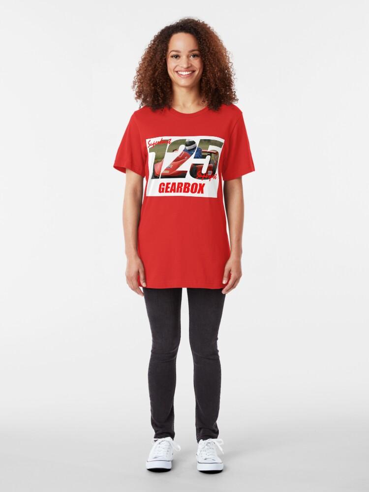 Alternate view of Superkart 125 Gearbox  Slim Fit T-Shirt