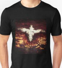 Winged creature with crown Unisex T-Shirt