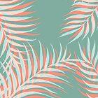 Palms Vision #redbubble #decor #buyart by designdn