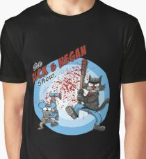 TWD - The Rick And Negan Show Graphic T-Shirt
