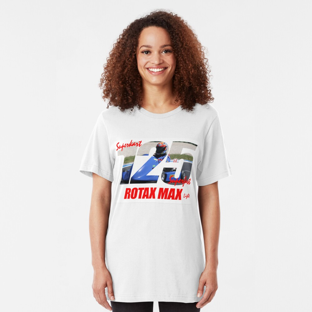 Superkart 125 Rotax Max Light Slim Fit T-Shirt