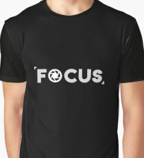 Focus - Photography, Photographer, Selfie, Camera, Photo Gift Graphic T-Shirt
