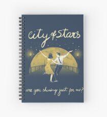 La La Land - City of Stars Art Spiral Notebook