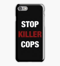 STOP KILLER COPS (I CAN'T BREATHE)  iPhone Case/Skin