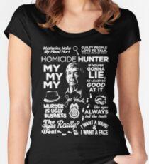 joe kenda Women's Fitted Scoop T-Shirt