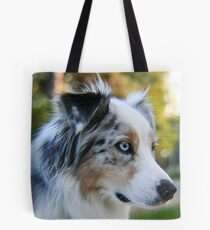 Australian Shepherd Blue Merle Tote Bag