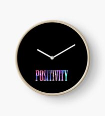 Positivity- Rainbow Clock