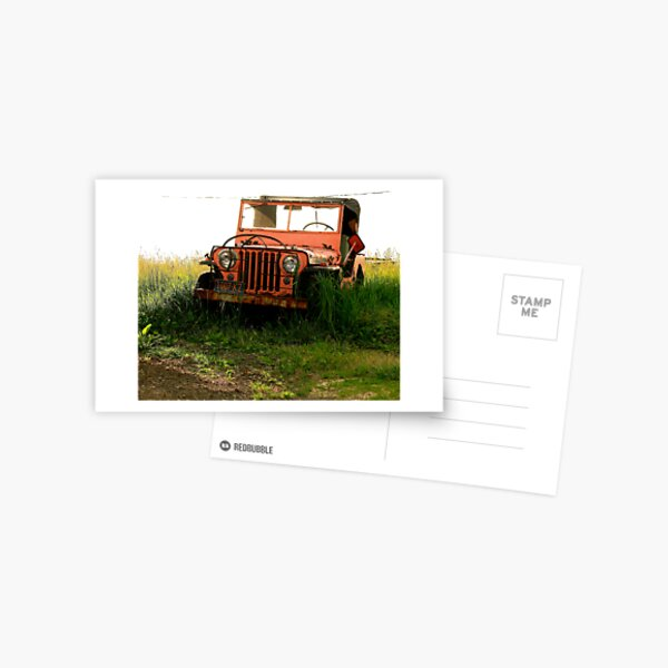 Auto Retirement Postcard