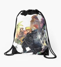 The Clock Tower Drawstring Bag