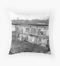 This roof over our head Throw Pillow