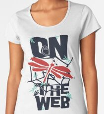 On The Web Women's Premium T-Shirt