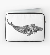 Whale drawing by Floris V Laptop Sleeve