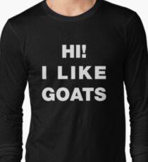 Hi! I Like Goats T-Shirt