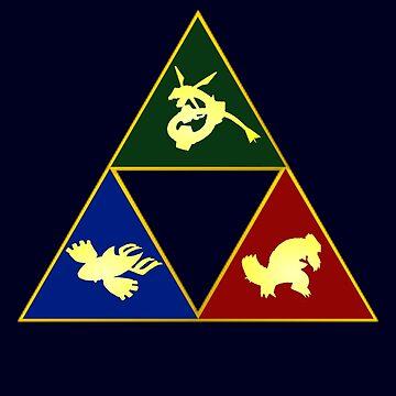 Hoenn's Legendary Triforce by LevelB