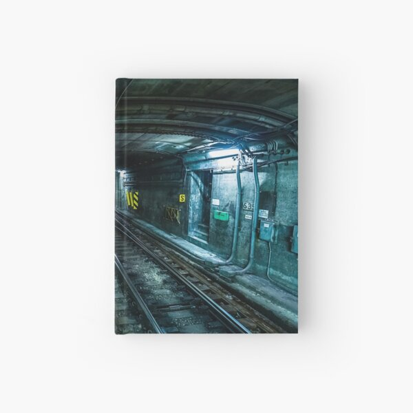 Tunnel to Hell Hardcover Journal