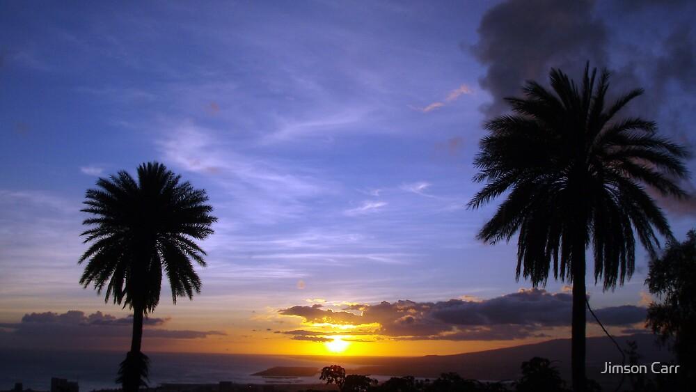 Tantalus Sunset by Jimson Carr