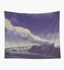 The Yorkshire Dales Railway poster  Wall Tapestry