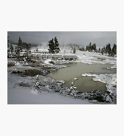 Yellowstone in Winter Photographic Print