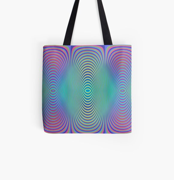 Play with stripes 1 All Over Print Tote Bag