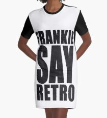 Frankie Say Retro Graphic T-Shirt Dress