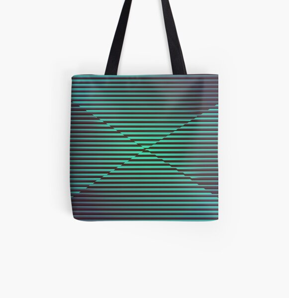 Play with stripes 2 All Over Print Tote Bag